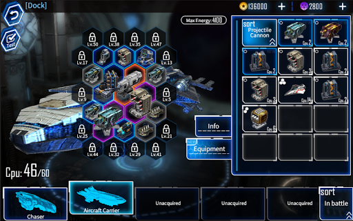 Galaxy Reavers - Starships RTS apkmr screenshots 14