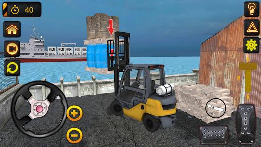 Forklift Simulator Realistic Game screenshots 1