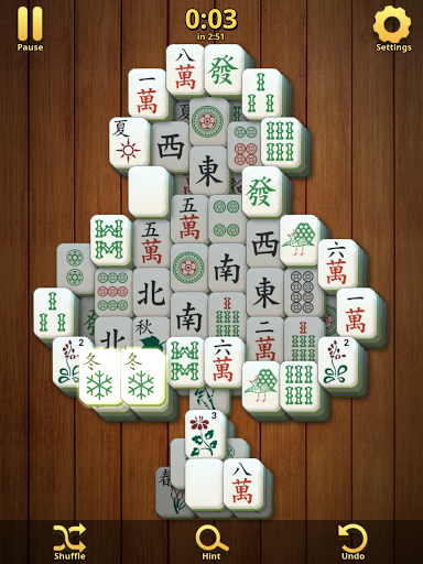 Mahjong Solitaire Classic : Tile Match Puzzle 2.1.16 screenshots 9