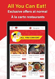 Hungry Hub - Thailand Dining Offer App 5.7.9 Screenshots 18