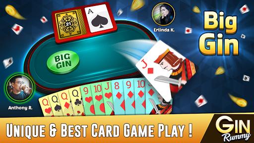 Gin Rummy - Best Free 2 Player Card Games 23.8 screenshots 3