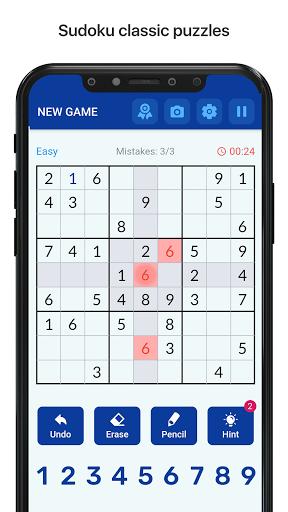 Sudoku - Free Classic Sudoku Puzzles  updownapk 1