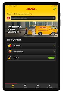 DHL Express Mobile 2.6.0 Screenshots 12