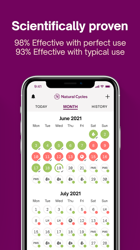 Natural Cycles - Birth Control App 4.0.6 Screenshots 2