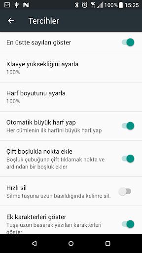 Turkish Keyboard 6.9.0 Screenshots 8