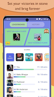 Blend - Play Group Games inside Chat Screenshot