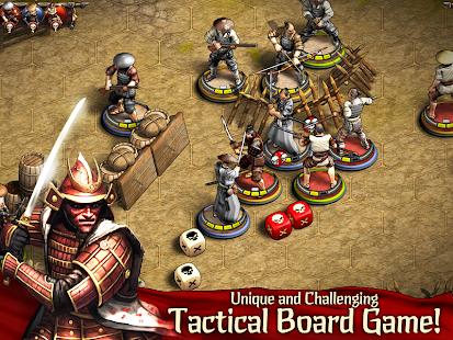 Warbands:Bushido-戦術的なミニチュアボードゲーム