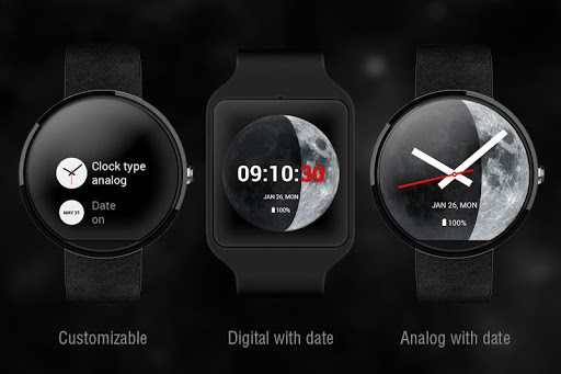 Moon Phase PRO - Watch Face For PC Windows (7, 8, 10, 10X) & Mac Computer Image Number- 6