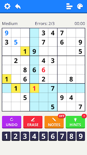 Numbers Puzzle 2021 - free classic puzzle game 1.2.0 screenshots 2