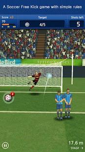 Finger soccer : Football kick 1.0 Screenshots 1