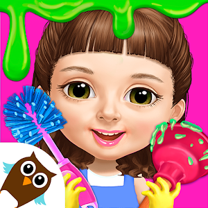 Sweet Baby Girl Cleanup 5 Messy House Makeover 7.0.30019 by TutoTOONS logo