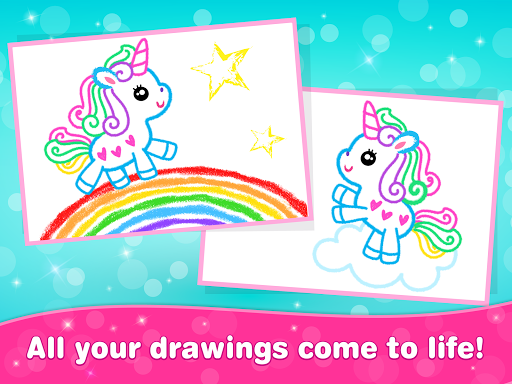 Kids Drawing Games for Girls! Apps for Toddlers!  screenshots 20