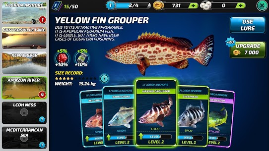 Fishing Clash: Game Câu Cá Online Thể Thao 3D Ver. 1.0.150 MOD Menu APK | Line Never Break | Auto fishing 6