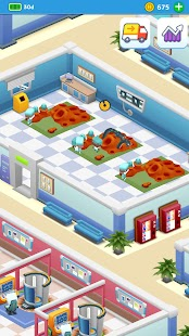 Idle Frenzied Hospital Tycoon Screenshot