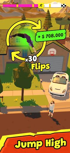 Télécharger GRAND JUMP 3D! Tumbling & Flip APK MOD (Astuce) screenshots 1