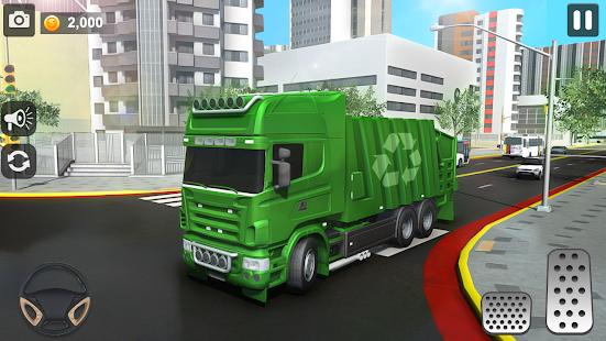 City Trash Truck Simulator: Dump Truck Games 1.37 Screenshots 1
