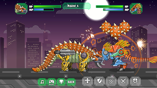 Robot Ankylosaurus Toy War screenshots 1
