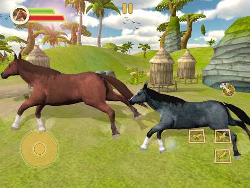 Ultimate Horse Simulator - Wild Horse Riding Game apkpoly screenshots 7