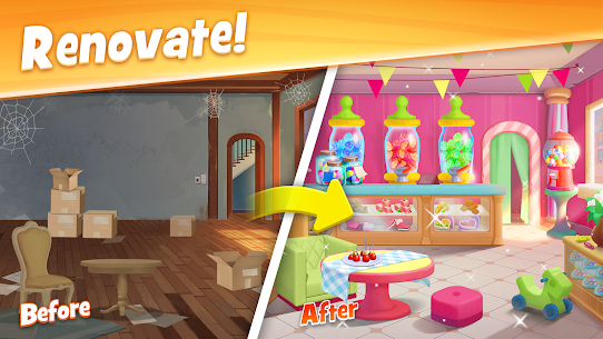 Town Story: Renovation & Match-3 Puzzle Game 2