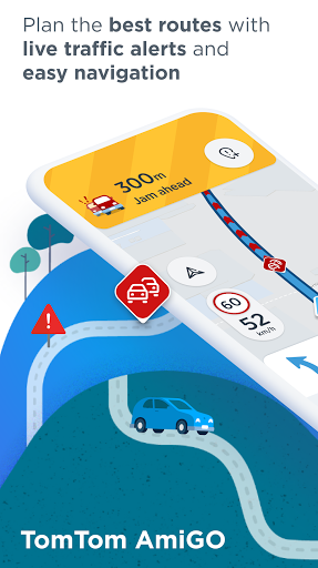 TomTom AmiGO - GPS Navigation android2mod screenshots 1