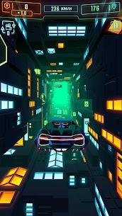 Neon Flytron: Cyberpunk Racer Mod Apk (Unlocked/No Ads) 1