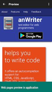 anWriter text editor 1.8.5.0 Apk 5