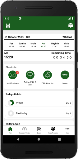 Duaas and Surahs 4.0.3 screenshots 1