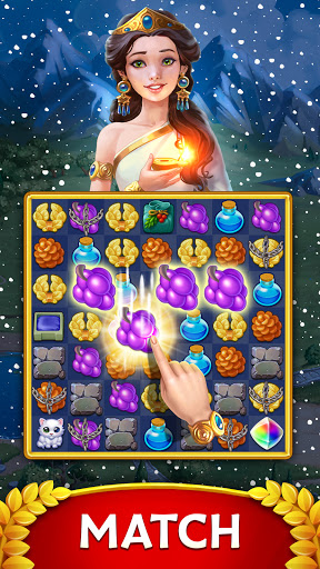 Jewels of Rome: Gems and Jewels Match-3 Puzzle  screenshots 1