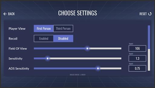 3D Aim Trainer - Shoot Like A Pro Gamer! 1.40 screenshots 2