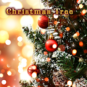 Beautiful Wallpaper Christmas Tree Theme