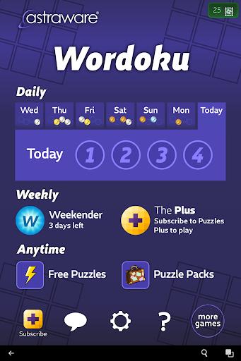 Astraware Wordoku 2.62.003 screenshots 15
