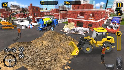 Heavy Construction Simulator Game: Excavator Games 1.0.1 screenshots 5