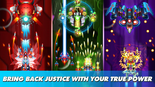 Thunder Fighter Superhero: Strikers Shoot 'Em Up 5.7 screenshots 3
