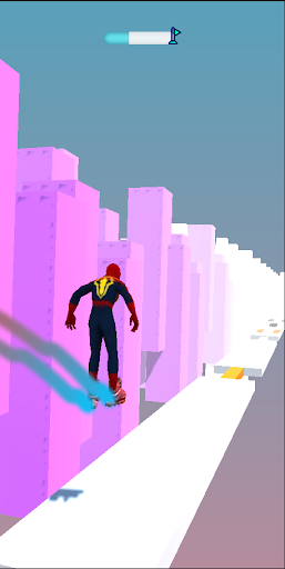 SuperHeroes Skates: Sky Roller apkpoly screenshots 8