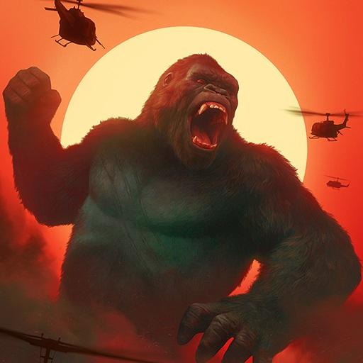 Baixar Gorilla Game: Angry Gorilla vs Kong & City Smasher para Android