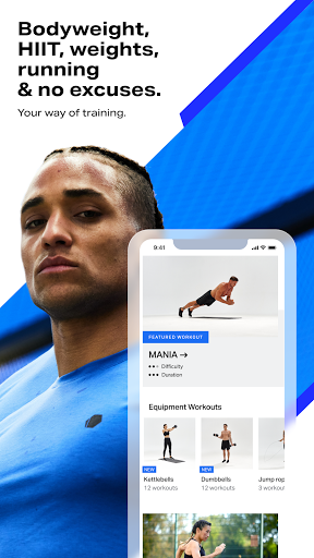 Freeletics Training Coach - Bodyweight Fitness  screenshots 1