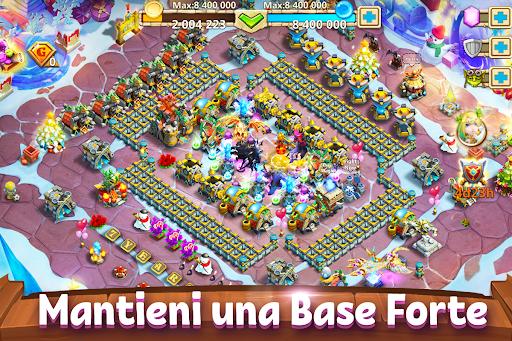 Castle Clash: Gilda Reale Apkfinish screenshots 11
