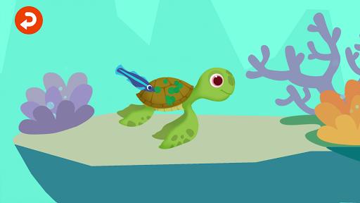 Télécharger Dinosaure  Aventure  Aquatique - Jeux pour enfants APK MOD (Astuce) screenshots 2
