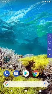 Simple Navigation Bar Free - Floating Back key
