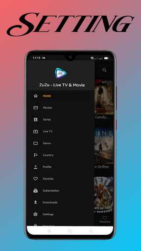 Foto do ZuZu TV- Watch Movie, Stream Live TV & TV Series