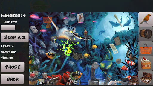Sea bottom. Hidden Objects For PC Windows (7, 8, 10, 10X) & Mac Computer Image Number- 9