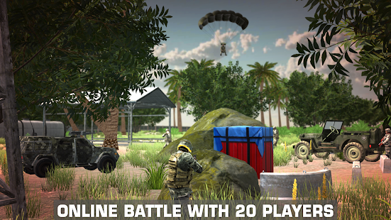 PVP Shooting Battle Online- und Offline-Spiel. Screenshot