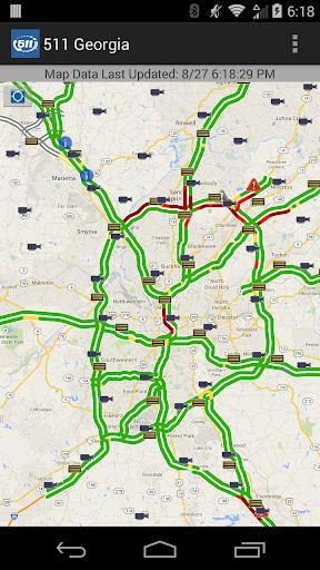 511 Georgia & Atlanta Traffic screenshots 2
