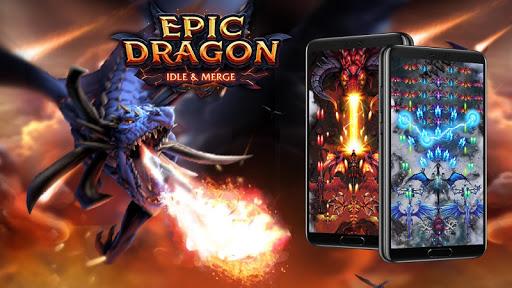 Dragon Epic - Idle & Merge - Arcade shooting game 1.159 screenshots 8