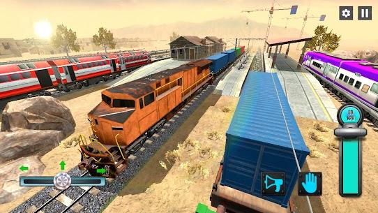 New Train Racing Game 2021 –Offline Train Games 3D 4