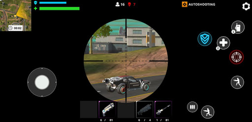 Cyber Fire: Free Battle Royale & Shooting games 2.2.3 Screenshots 4