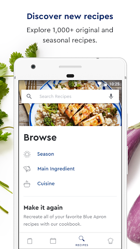 Blue Apron modavailable screenshots 5