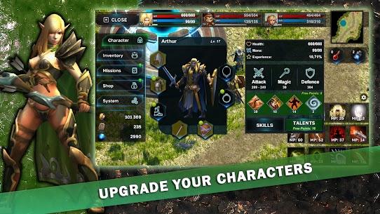 Fantasy Heroes: Legendary Raid Mod Apk 0.2 4