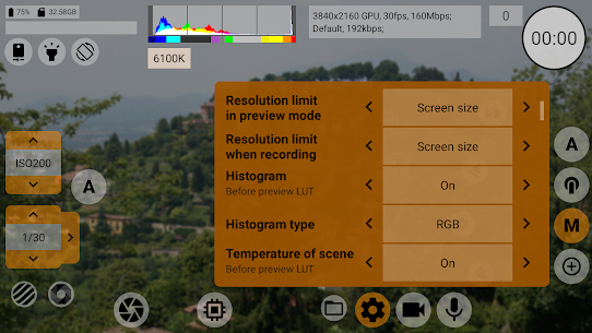 mcpro24fps Apk- professional manual video camera (Paid) 8