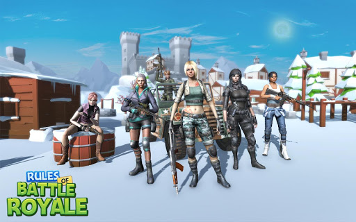 Rules Of Battle Royale - Free Games Fire  screenshots 5